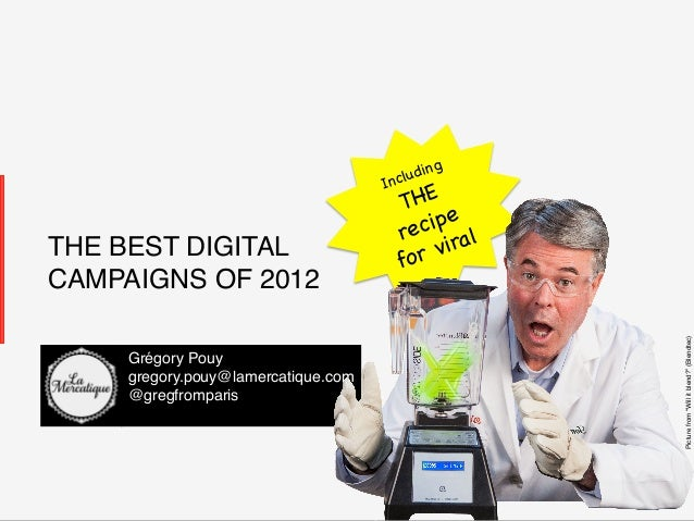 The best digital campaigns of 2012