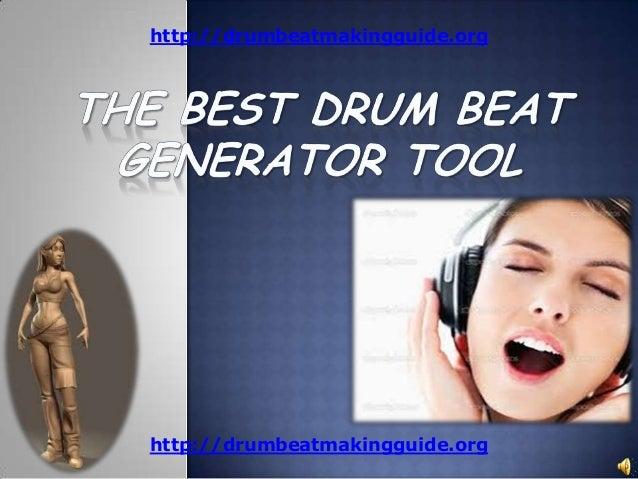 The best drum beat generator tool