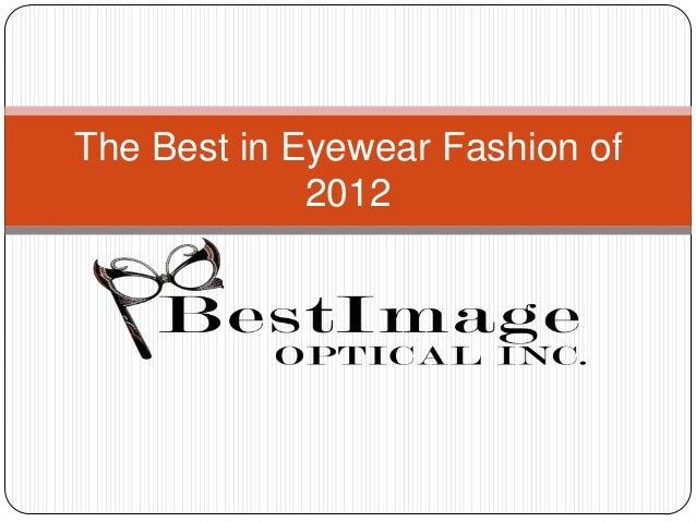 The best in eyewear fashion of 2012