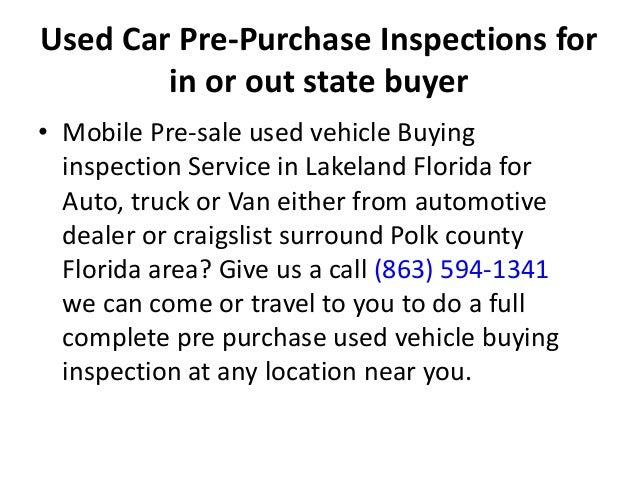 mobile pre purchase inspection in lakeland fl 863 594 1341. Black Bedroom Furniture Sets. Home Design Ideas