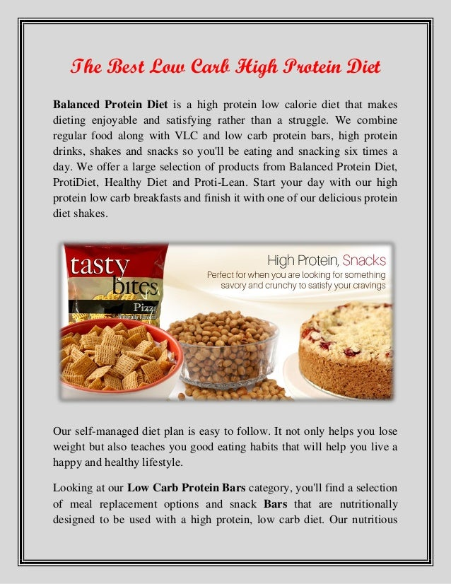 High Protein Low Carb No Grain Dog Food