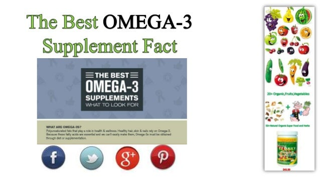Fact of omega 3 supplements