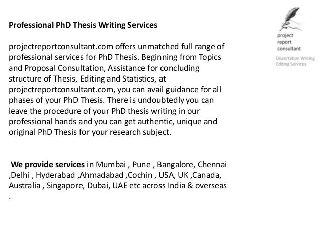 Help writers thesis bangalore