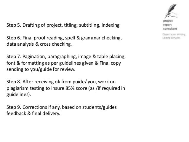 professional thesis writing