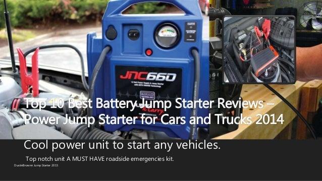 Top 10 best battery jump starter reviews power jump starter for