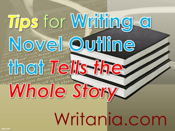 Writing Novel Outline Template