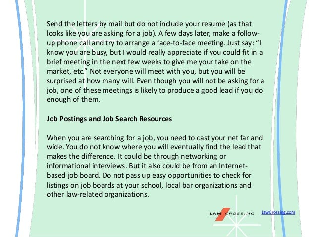 ways to find a job