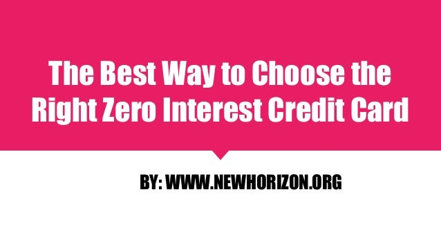 how to choose the right credit cards for you