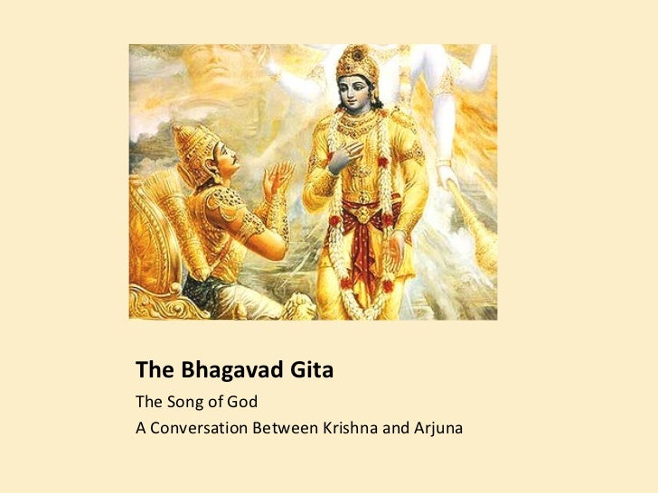 essays teachings of bhagavad gita text