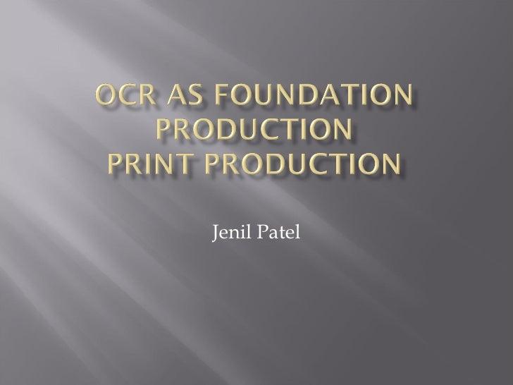 Jenil Patel