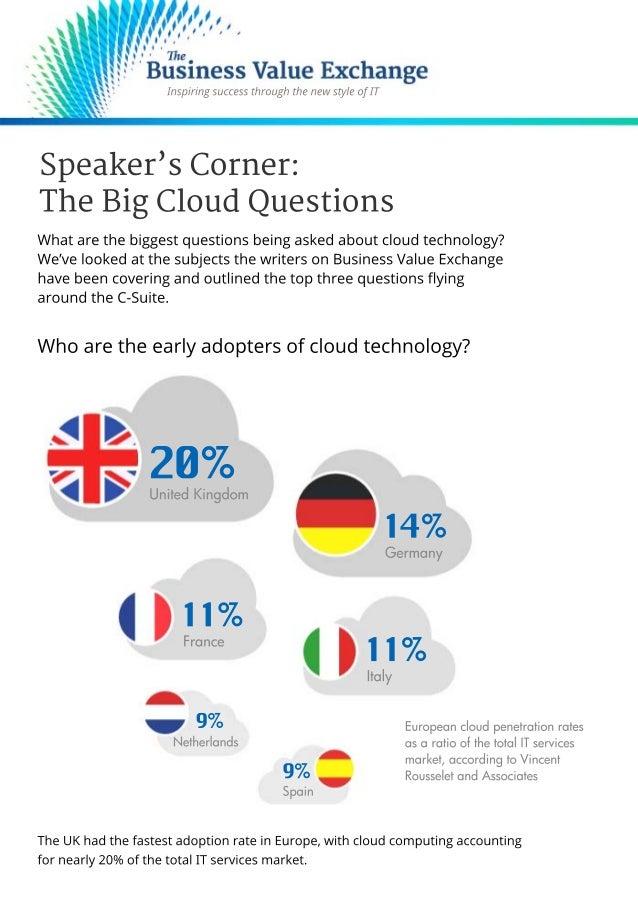 The Big Cloud Questions