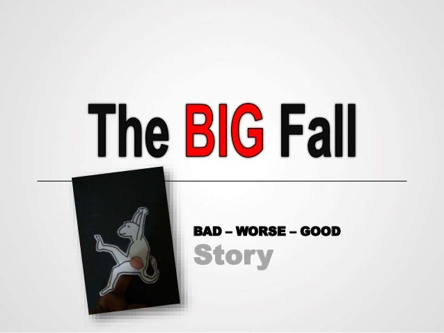 The BIG Fall (Presentation horror Story)