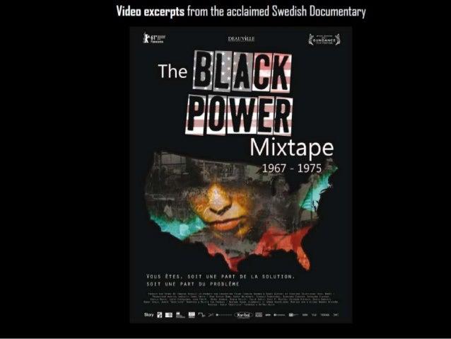 The Black Power Mixtape 1967 1975-Video clips w Graphics/Image Captures