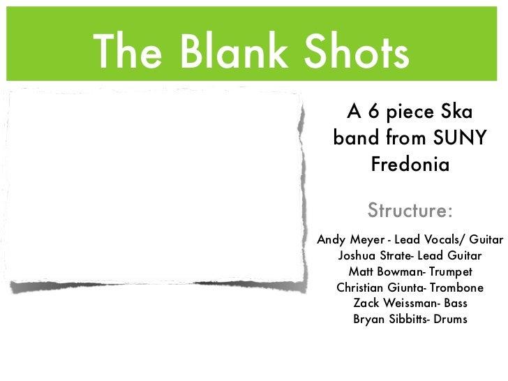 The Blank Shots PR Presentation