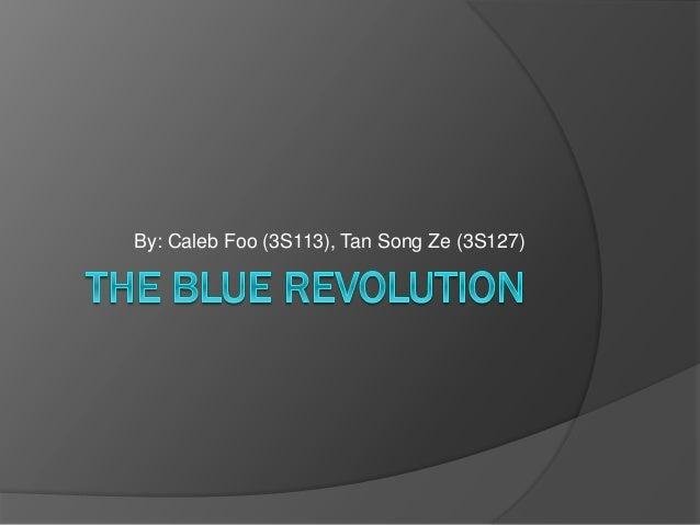 The blue revolution.pptx