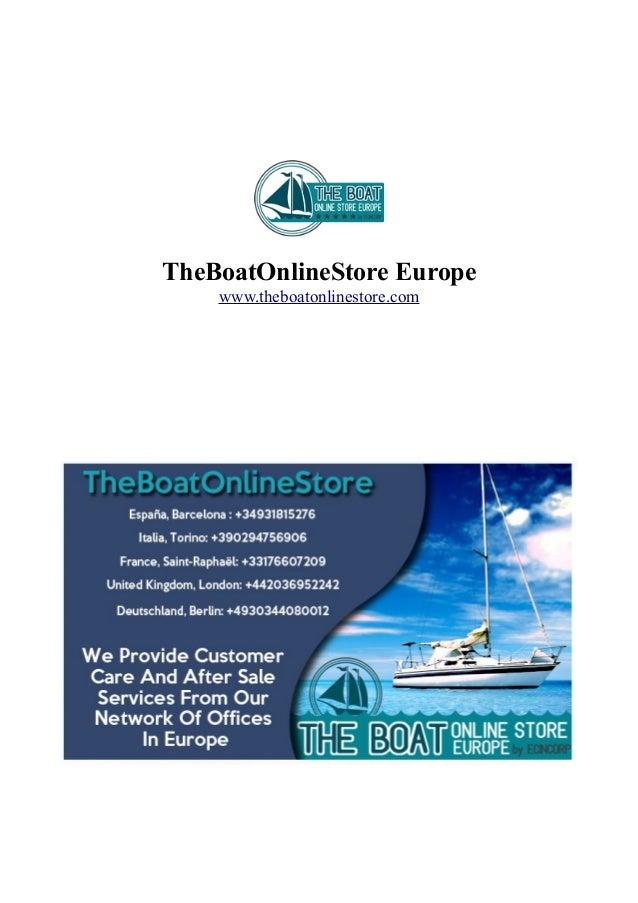 TheBoatOnlineStore Europe www.theboatonlinestore.com