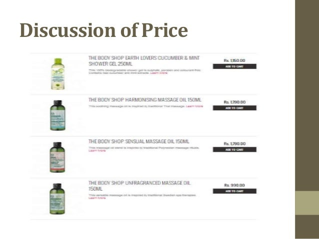 the body shop pricing strategies Its success raises questions, not just about technique or strategy, but about some of the most fundamental aspects of business  therein lies the most important lesson the body shop has to .