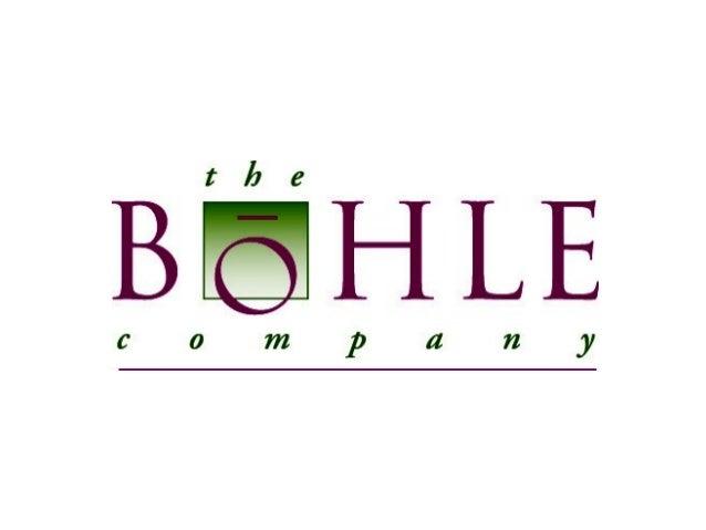 The Bohle Company 2012
