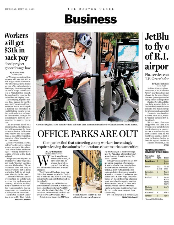 The Boston Globe - 19 jul 2012 - page #19