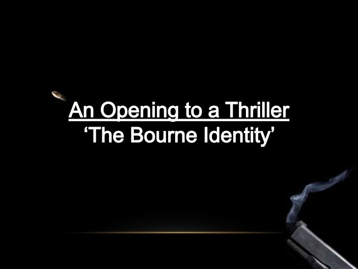 'The Bourne Identity'