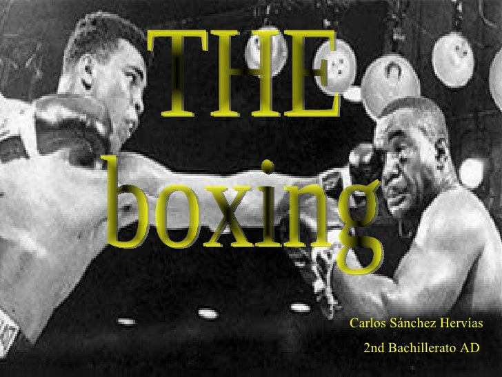 The boxing
