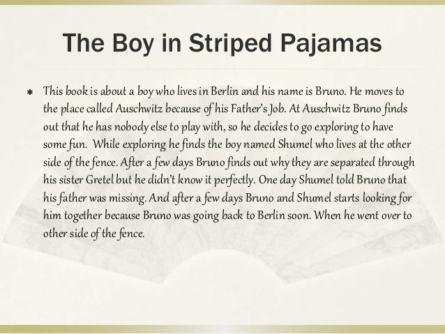 The boy in the striped pajamas book summary
