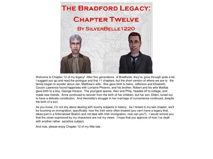 The Bradford Legacy - Chapter 12