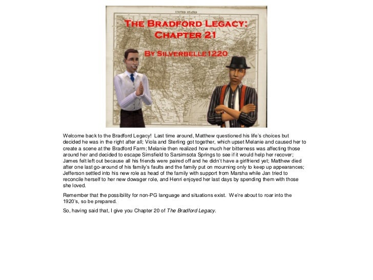 The Bradford Legacy - Chapter 21