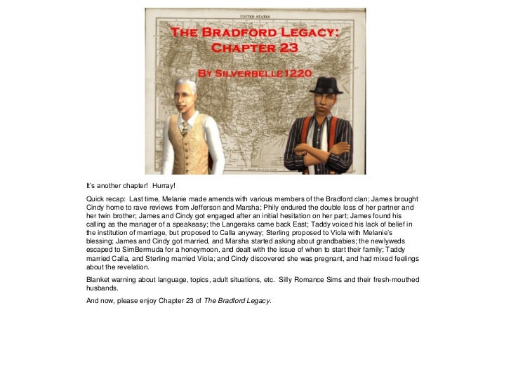 The Bradford Legacy - Chapter 23
