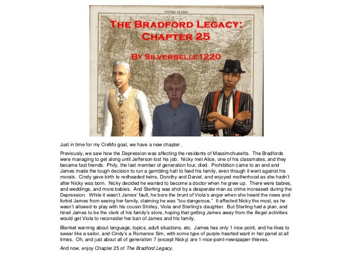 The Bradford Legacy - Chapter 25