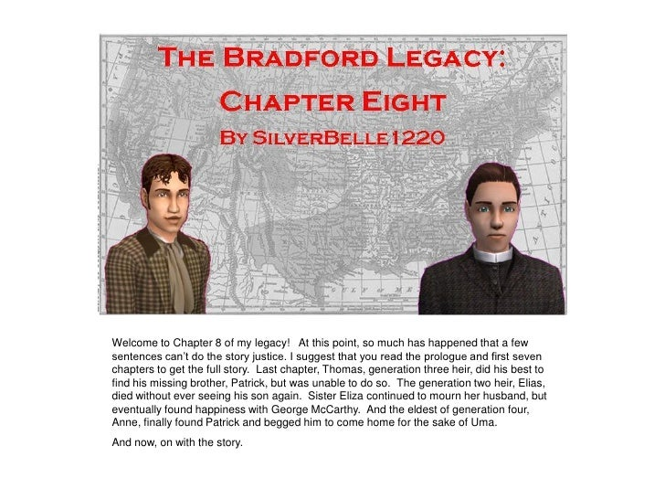 The Bradford Legacy - Chapter 8