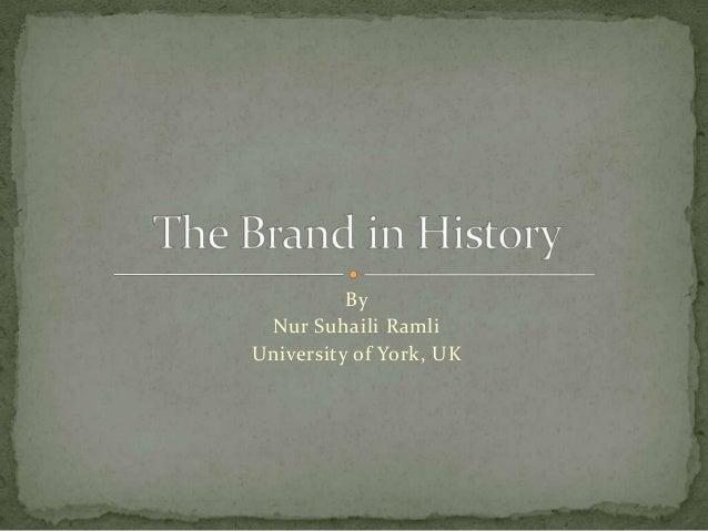 By Nur Suhaili Ramli University of York, UK