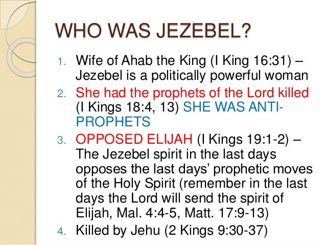 Jezebel Spirit Characteristics The last and final generation Quotes About Hope And Love