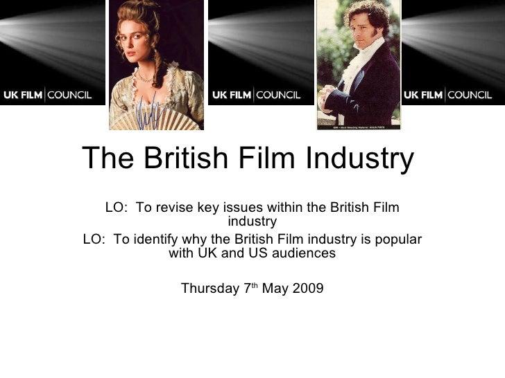 The British Film Industry 2[1], CGS