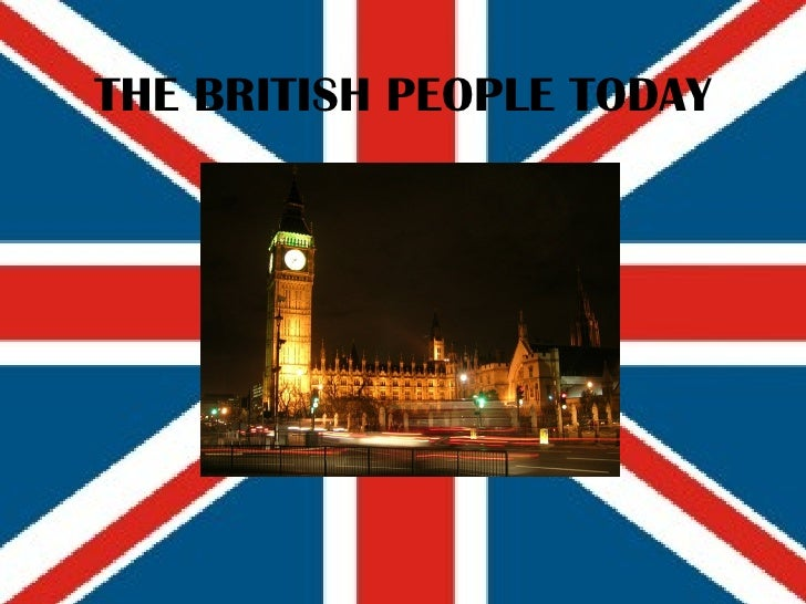 THE BRITISH PEOPLE TODAY