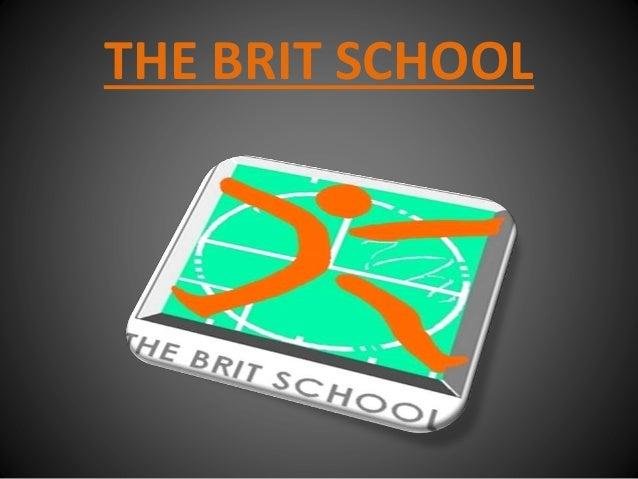 The brit school, irene eiguren