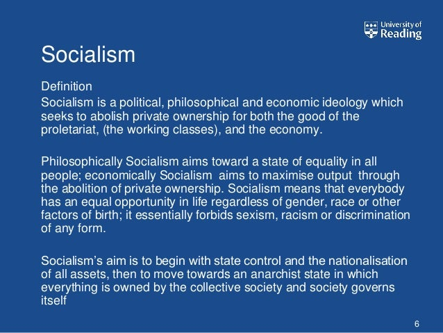 definitions of socialism and ideology The chinese kuomintang party, the previous ruling party in taiwan, was referred to as having a socialist ideology since kuomintang's revolutionary ideology in the 1920s incorporated unique chinese socialism as part of its ideology.