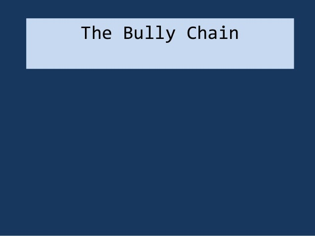 The bully chain costumes