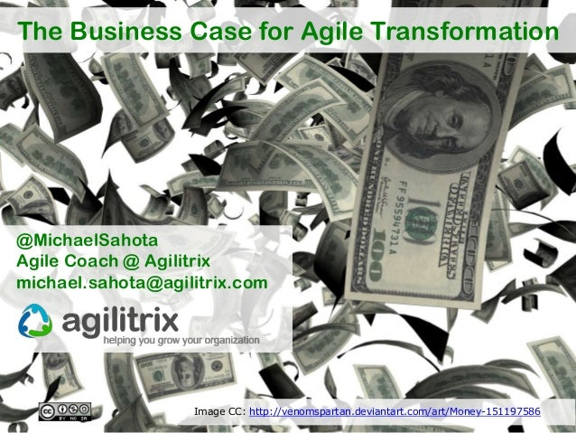 The business case for agile transformation