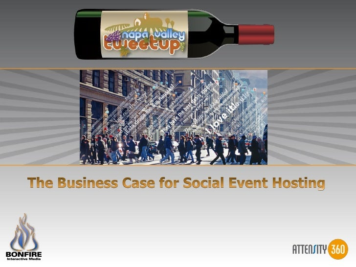 The business case for the Napa Valley Tweetup