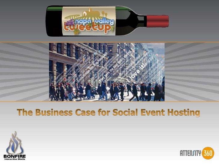 The Business Case for Social Event Hosting<br />