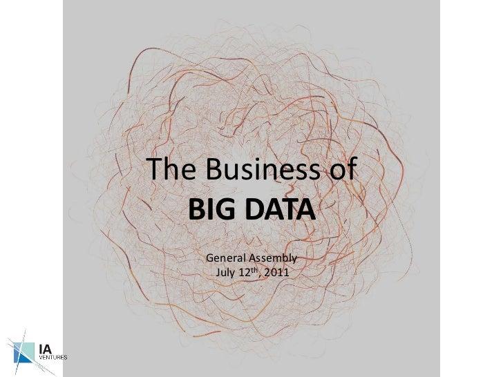 The Business Of Big Data (Ga Preso) Final