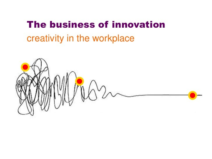 The business of innovationcreativity in the workplace