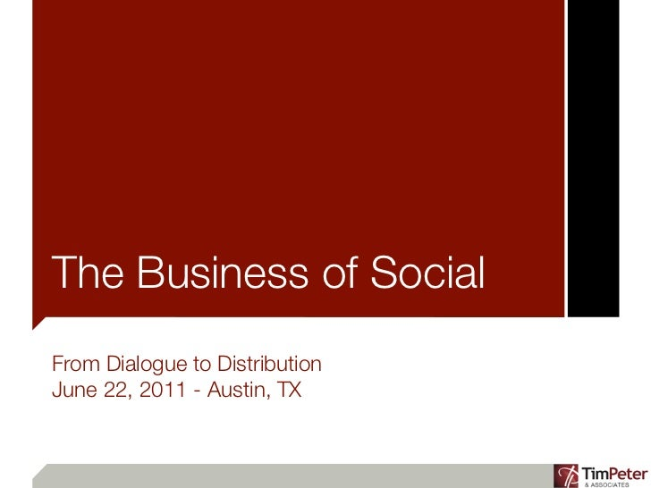 From Dialogues to Distribution: The Business of Social Media