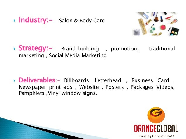 Business plan for beauty salon