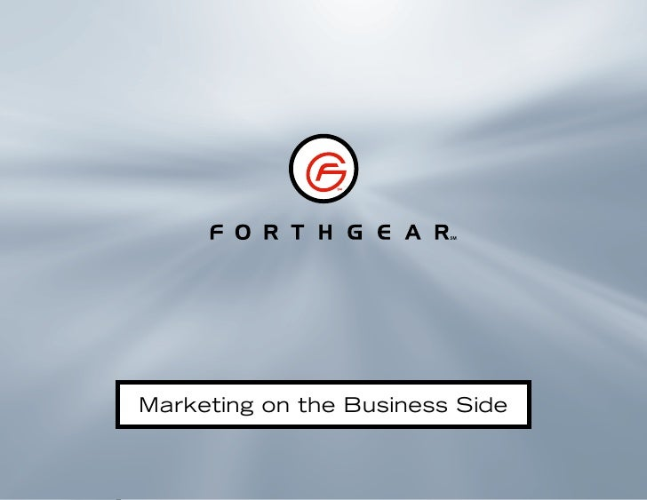 Marketing on the Business Side