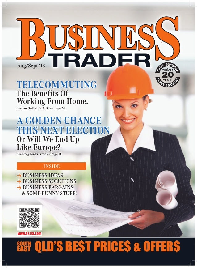 Business Trader Magazine August / September 2013