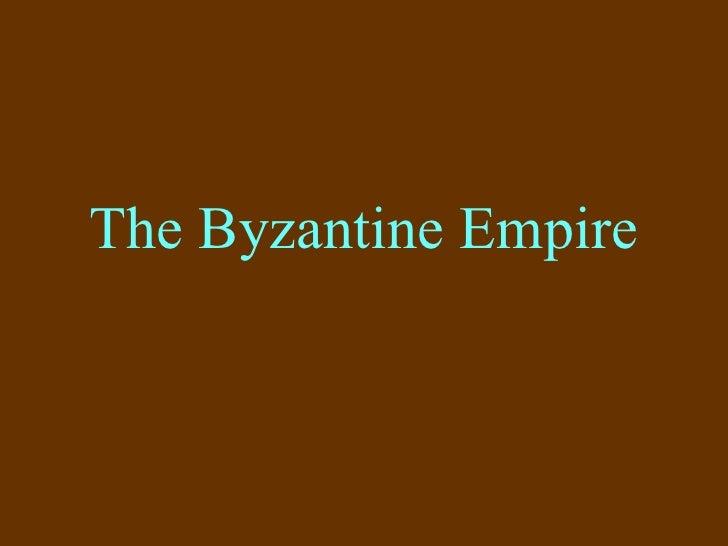 TheByzantineEmpire