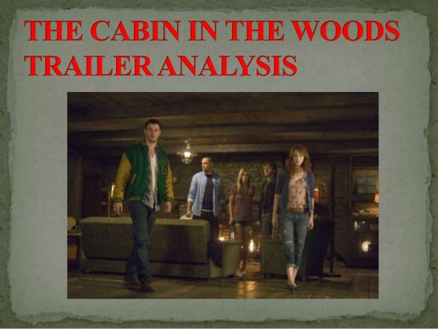This is the opening scene for the trailer of Cabin in the Woods . It is an establishing shot to show the group of friends ...