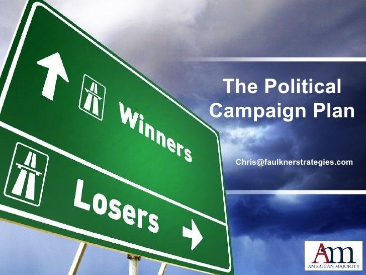 The Campaign Plan Mod 2.2.09